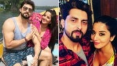 Bigg Boss star Mona Lisa gets cosy with hubby Vikrant Singh on Valentine's Day. See pics