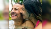 Tanishaa and mom Tanuja in swimsuits set the pool on fire in Andamans