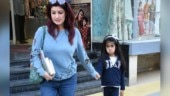 Nitara has the funniest expressions as she steps out with mom Twinkle Khanna