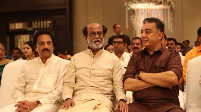 Ravichander, Rajinikanth and Kamal Haasan
