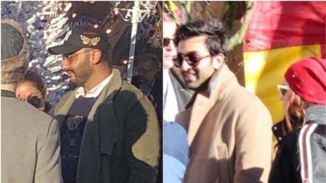 Bollywood stars at the Ambani pre-wedding bash Photo: Instagram/ Viral Bhayani