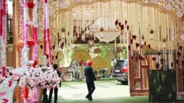 Antilia is all decked up for Akash Ambani and Shloka Mehta wedding Photo: Yogen Shah