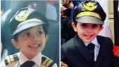 Ajith and Shalini gift son Aadvik pilot-themed birthday party. See pics