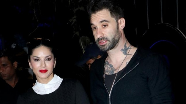 Sunny Leone steps out for dinner date with husband Photo: Yogen Shah