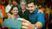 Vijay and Suriya look dapper at an engagement in Chennai. See pics