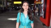 Aditi Rao Hydari in loud turquoise suit is airport fashion blunder. See pics