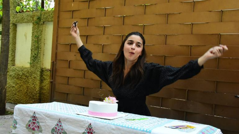 Alia Bhatt turned 26 today. Photo: Yogen Shah