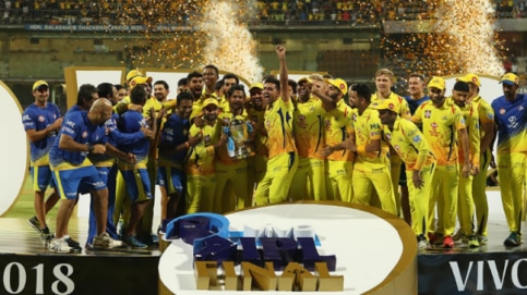 Chennai Super Kings won the IPL trophy for the third time