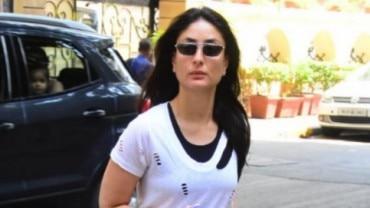Kareena Kapoor Khan at the gym Photo: Yogen Shah