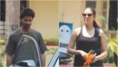 Shahid Kapoor joins wife Mira for a workout session. See pics