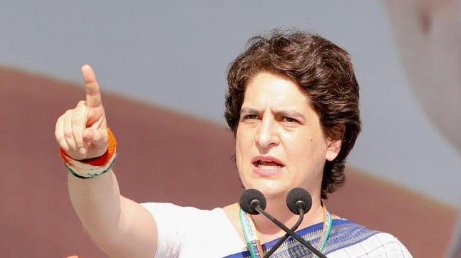 Priyanka Gandhi Vadra's debut poll speech in Gandhinagar, Gujarat