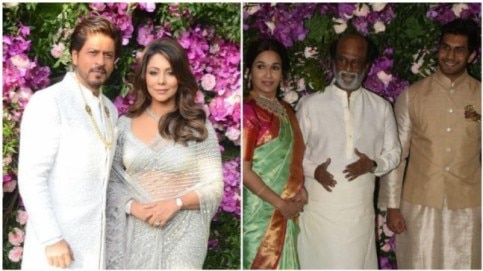 Celebs at the Ambani Wedding Photo: Yogen Shah