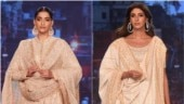 Sonam Kapoor to Shweta Bachchan: Who wore what on the ramp to raise funds for cancer patients