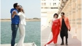 Lovebirds Vindya Tiwari and Neel Motwani chill in Sharjah ahead of their wedding