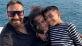 Happy Birthday Ajay Devgn: These adorable photos with Nysa and Yug prove he is a doting dad