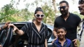 Lok Sabha Elections 2019: Ajay Devgn and Kajol arrive with son Yug to cast vote. See pics