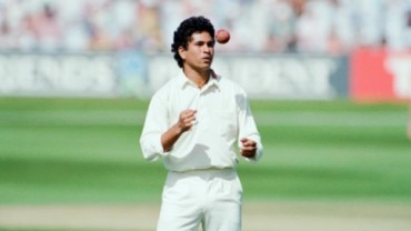 Tendulkar began bowling very early in his career. The bowler-turned batsman has 46 Test wickets and 154 ODI wickets