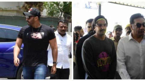 It's an important day for Mumbai. Bollywood stars like Arjun Kapoor have come to cast their vote.