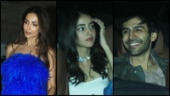 Kartik Aaryan-Ananya Panday to Malaika Arora: Bollywood celebs turn up the heat at this bash
