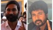 Dhanush to Sivakarthikeyan, K-Town celebs flock to polling booth. See pics