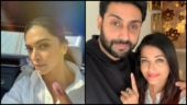 Lok Sabha elections 2019: Bollywood floods social media with poll selfies. Best photos