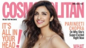 Parineeti Chopra on the cover of Cosmopolitan