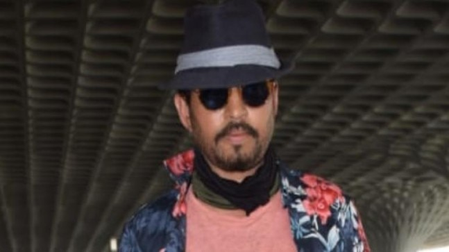 Irrfan recently got treated for neuroendocrine tumour in London. Photo: Yogen Shah