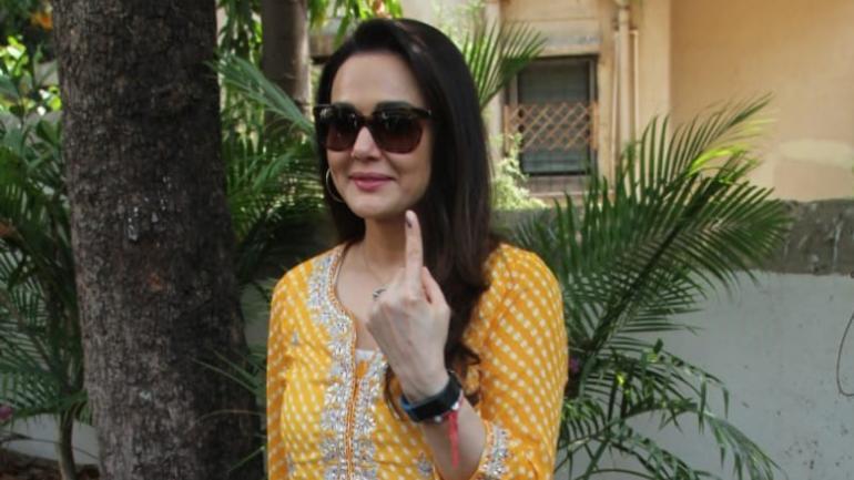 Preity Zinta. Photo: Yogen Shah
