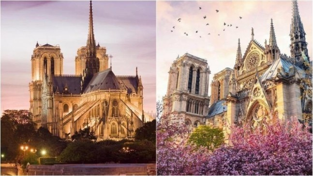 Notre Dame before the fire in all its glory