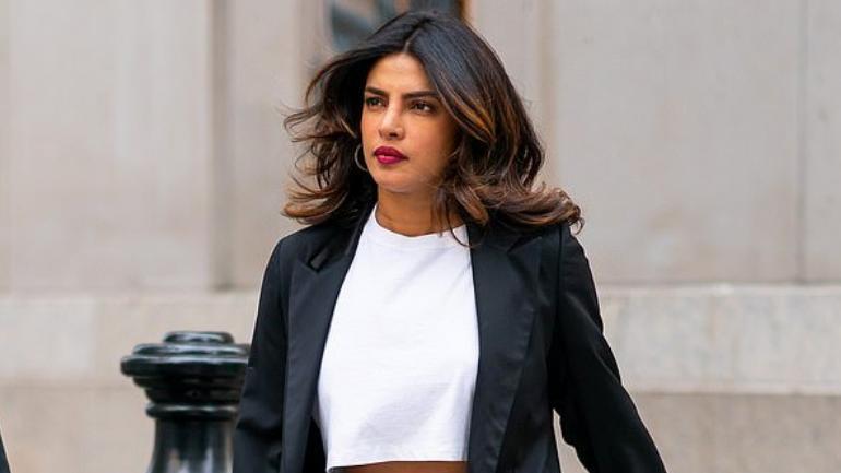 Priyanka Chopra out on the streets of New York