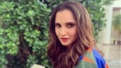Sania Mirza nails mommy fashion in black bodysuit and long jacket. See pics