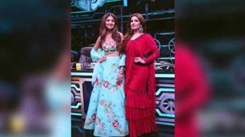 Shilpa Shetty and Raveena Tandon