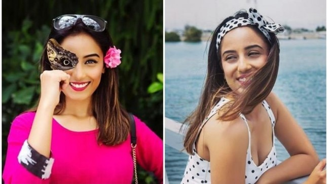 Bigg Boss 12's Srishty Rode spends some fun-filled moments in Sharjah. See pics