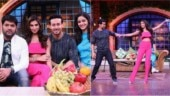 The Kapil Sharma Show: Tiger Shroff shakes a leg with Tara Sutaria on the show