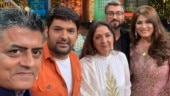 The Kapil Sharma Show: Badhaai Ho's Gajraj Rao and Neena Gupta had a gala time on the show