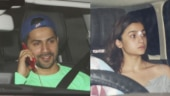 Varun Dhawan and Alia Bhatt party with Karan Johar after Kalank release. See pics