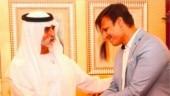 Vivek Oberoi screens PM Modi biopic for UAE minister Nahyan Bin Mubarak Al Nahyan in Dubai. See pics