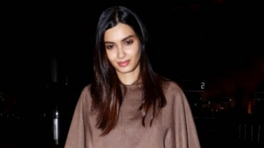 Diana Penty at Mumbai airport jetting off to Cannes 2019 Photo: Yogen Shah