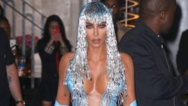 Kim Kardashian at Met Gala afterparty