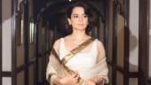 PM Modi swearing-in: Kangana Ranaut goes retro goddess in white and gold saree. See pics