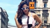 Hina Khan sets the temperature soaring on Swiss holiday in chic one-shoulder jumpsuit. See pics