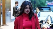 Priyanka Chopra paints the London streets red on one year anniversary with Nick Jonas. See pics
