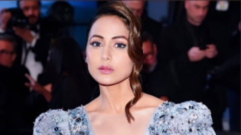 Hina Khan at Cannes 2019 Photo: Instagram/ Hina Khan