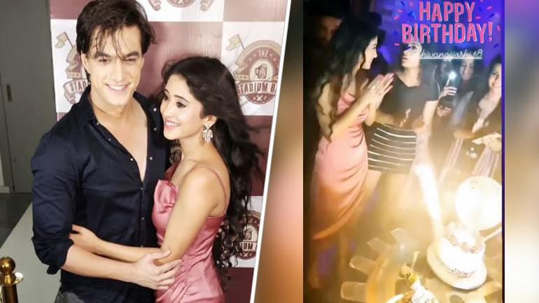 Shivangi Joshi and Mohsin Khan