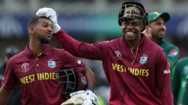 Nicholas Pooran scored a quickfire 34 of 19 balls to help West Indies crush Pakistan by 7 wickets in their first match of World Cup 2019 on Friday.