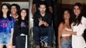 Student Of The Year 2: Tiger Shroff, Tara Sutaria and Ananya Panday attend screening with their families