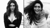 Karishma Tanna is killing it in these black-and-white pictures. See stunning pics