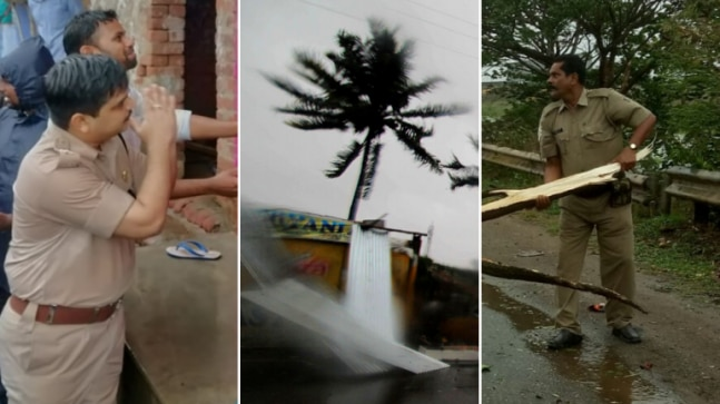 Cyclone Fani in photos: Furious skies, fallen trees, folded hands