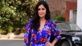 Katrina Kaif is a floral wonder in pretty mini wrap dress for Bharat promotions. See pics