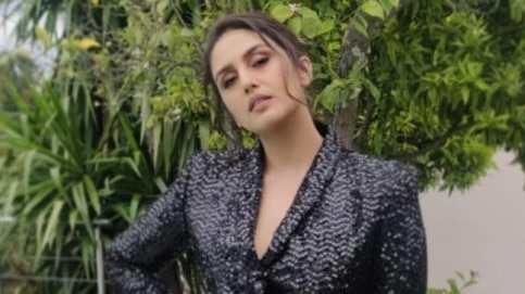 Huma Qureshi at Cannes 2019 Photo: Instagram/ Huma Qureshi